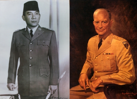 Bung Karno Vs Eisenhower