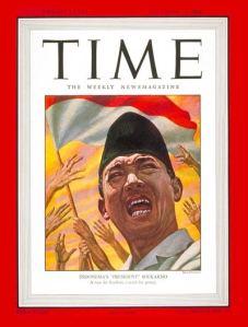 Sukarno Cover Time 1946