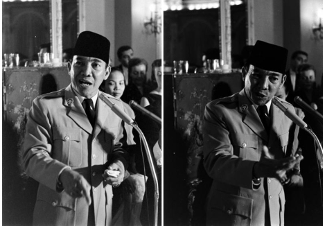 Bung Karno di AS 1956