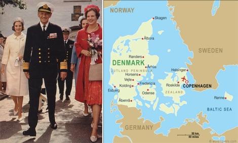 Raja Frederik IX dan Denmark