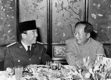 Bung Karno dan Mao Zedong