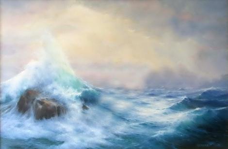 karang di laut