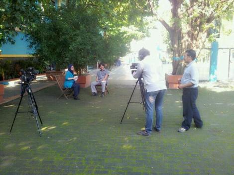 syuting DAAI TV