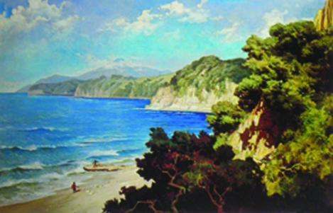 Pantai Flores - Basuki Abdullah