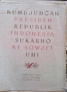 Buku Kunjungan BK ke Soviet