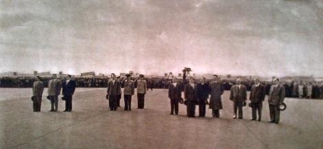 Sambutan Pejabat Uni Soviet