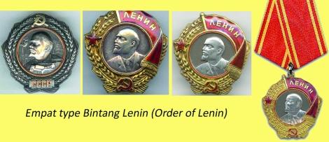 4 Type Bintang Lenin