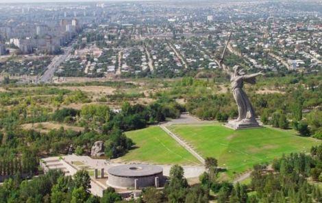 Monumen Mamayev